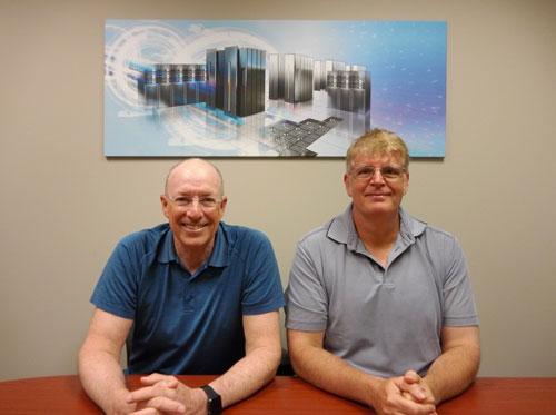 Don Thimsen and Tom Williamson