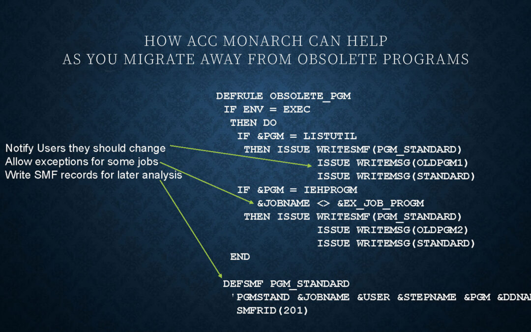 ACC monarch use case